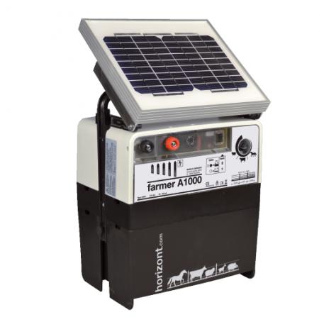 farmer A1000 mit 5 Watt Solarmodul